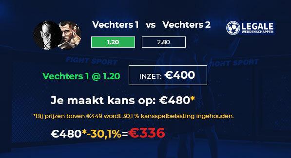 UFC kansspelbelasting