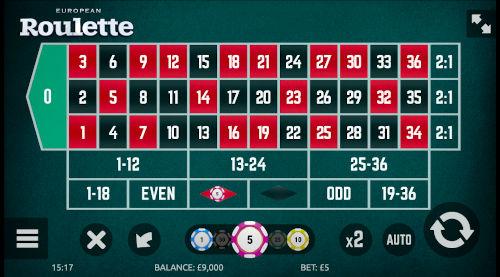 Roulette Stap 1: Kiezen van de inzet