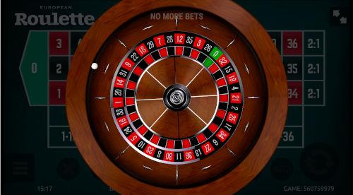 Roulette Stap 2: Inzetten niet meer mogelijk