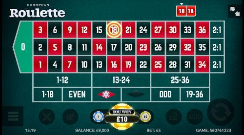 Roulette Stap 4: Ontvangen van de winst