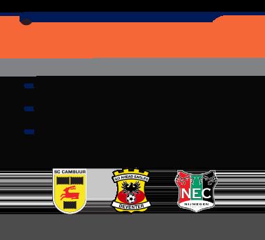 Eredivisie nieuwkomers
